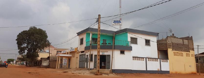 Radio Providence à Lomé