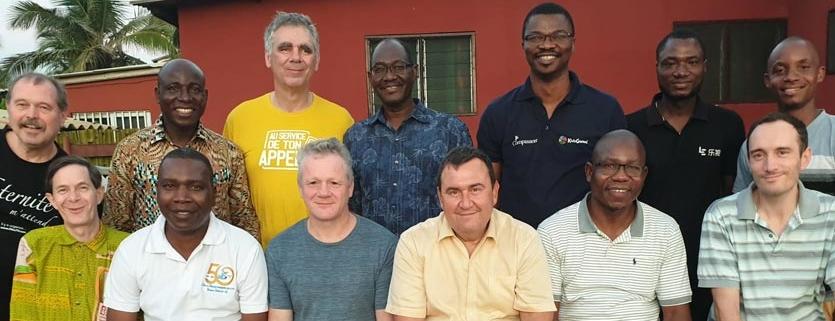 Les orateurs et organisateurs de #Lomé2