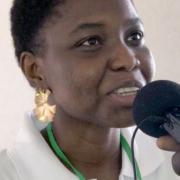 Remise du prix François Sergy à Dodji Juliette Kpessou